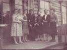Щорса 2 дом молодых спецов и библиотека слева вторая Харьковская Мария в центре Верганов  примерно 1958 г в центре Верганов ГП