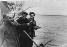 На рыбалке на озере Шепкуль Урицкий ДМ Алфимов ЮД Важенин ВВ
