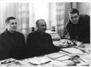 В день коммунистического субботника  11.04.70 Важенин ВВ Култышкев ВВ Бакланов ГА