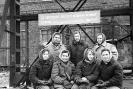 Примерно 1960 г саврщицы нижний ряд слева третья Губина Татьяна верхний ряд слева Лобзова