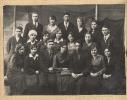 Косомоьская группа корпусного цеха Тюменской судоверфи 1938 г