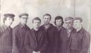 Второй слева Орлов Александр Яковлевич бригадир